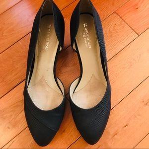 naturalizer black heels shoes